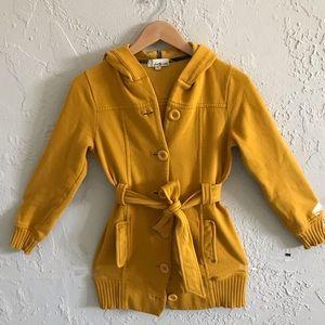 Yellow mustard coat